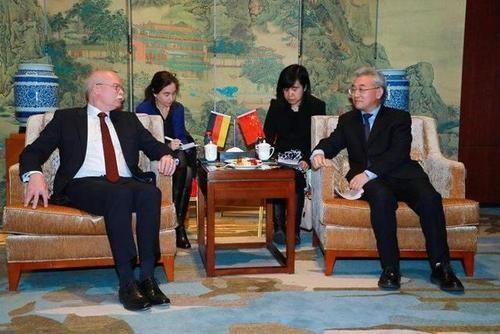 张桃林出席第六届中德农业合作交流研讨会